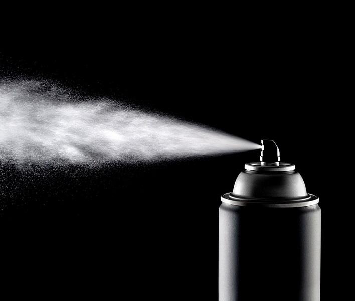 Инсектицид в аэрозоли - средство от дрозофил