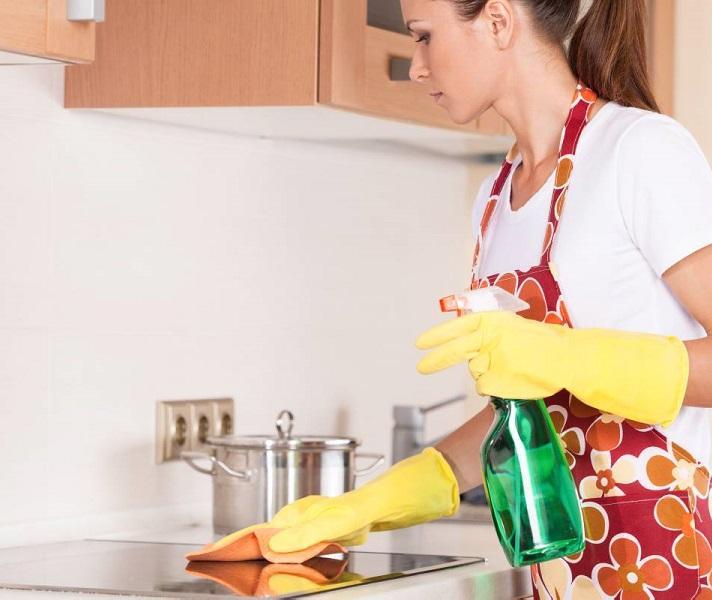 Поддержание чистоты на кухне