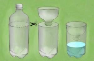 пластиковая бутылка для мошек